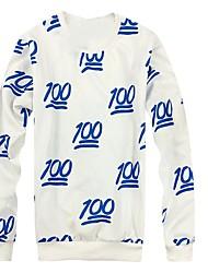 Men'sFashion Sweatshirt Daily Sports Going 3D Print Digital