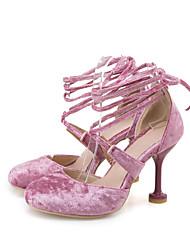 economico -Da donna-Sandali-Matrimonio Formale Serata e festa-Alla schiava Cinturino alla caviglia Club Shoes-A stiletto-Felpato-