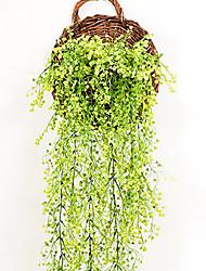 economico -1 Ramo Fiori secchi Gipsofila Cestino Fiore decorativo Fiori Artificiali