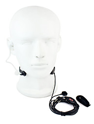 cheap -Throat MIC PTT Headset Walkie Talkie Covert Acoustic Tube for Kenwood Baofeng 365 Wanhua TYT HYT