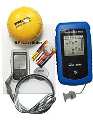 Fischfinder Wasserdicht LED Andere LCD Mit / Ohne weiß LED Kabellos 2×AAA Fester Kunststoff Gelbbarsch