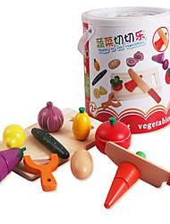 Недорогие -Ролевые игры Ножи для овощей и фруктов Овощи и фрукты Дерево Универсальные Детские Подарок 1pcs