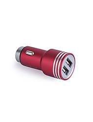 Недорогие -Автомобильное зарядное устройство Зарядное устройство USB Универсальный Быстрая зарядка 2 USB порта 3.1 A DC 12V-24V для