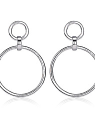 cheap -Women's Hoop Earrings - Statement, Africa Gold / Silver For Party / Birthday / Housewarming