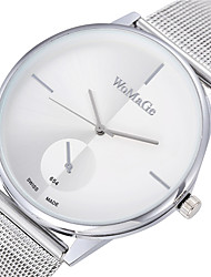 relojes de marca Womage Women Lady Fashion Stainless Steel Mesh Analog Bracelet Strap Watch Wrist Watch Cool Watches Unique Watches