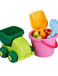 Недорогие -Игрушечные машинки Пляжные игрушки Ролевые игры Автомобиль Оригинальные пластик Детские Универсальные Игрушки Подарок 6 pcs