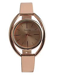 baratos -Mulheres Relógio de Moda / Rosa Folheado a Ouro / PU Banda Casual Ouro Rose / Um ano / Tianqiu 377