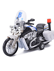 cheap -Toy Cars Toy Motorcycles Motorcycle Police car Toys Simulation Music & Light Car Motorcycle Horse Metal Alloy Metal Pieces Children's