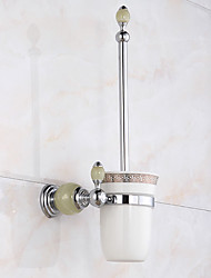 cheap -Toilet Brushes & Holders Modern Brass