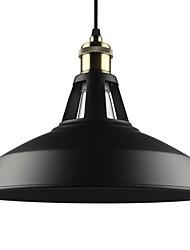 abordables -luces colgantes vintage max 60w 1 luz de metal salón comedor iluminación de pasillo