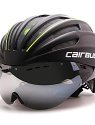 cheap -CAIRBULL Bike Helmet CE EN 1077 CE Cycling 28 Vents Adjustable Visor Mountain Full-Face Ultra Light (UL) Sports PC EPS Road Cycling