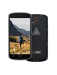 abordables -AGM AGM X1 5.1-5.5 5.5 pouce Smartphone 4G ( 4GB + 64GB 13 MP Qualcomm Snapdragon 617 5400 mAh )