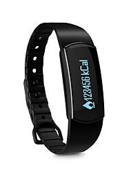 preiswerte -Smart-Armband Touchscreen Herzschlagmonitor Wasserdicht Verbrannte Kalorien Schrittzähler Distanz Messung Multifunktion Information