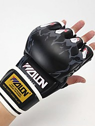 cheap -Boxing Training Gloves / Boxing Gloves for Boxing Fingerless Gloves Anatomic Design / Breathable / Protective Sponge / Leather /