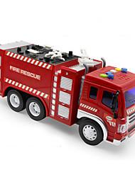 Недорогие -Пожарная машина Пожарные машины Машинки с инерционным механизмом Мальчики Девочки Игрушки Подарок