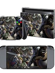 B-Skin Autocollant Pour Nintendo Commutateur Nouveauté Portable