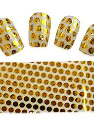 cheap -1pcs Nail Art Transfer Foils Beautiful Flower Butterfly Cute Cherry Laser Design Manicure Polish Glue Transfer Foils Sticker Nail Beauty STZXK31-40