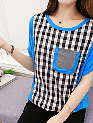 Qing payment model real shot fat mm summer loose women was thin T-shirt shirt female summer