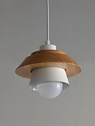 abordables -Lampe suspendue Lumière d'ambiance Finitions Peintes PVC LED 110-120V / 220-240V Blanc Crème Ampoule non incluse / E26 / E27