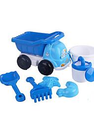 Недорогие -Игрушки для пляжа Игрушки Оригинальные Автомобиль пластик Куски Подарок