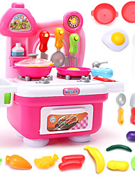 cheap -Toy Kitchen Sets Toy Dishes & Tea Sets Toy Food / Play Food Pretend Play Toys Toys PVC Children's Boys' Girls' Pieces
