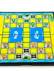 Недорогие -Настольные игры Шахматы Игрушки Круглый Мультяшная тематика Куски Не указано День рождения Подарок