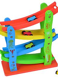Gioco educativo Macchinina giocattolo Macchine giocattolo Set di pattini in marmo Giocattoli 3D Plastica Alta qualità Pezzi Giornata