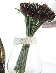 1 Ramo Fiori secchi Rose Fiori da tavolo Fiori Artificiali