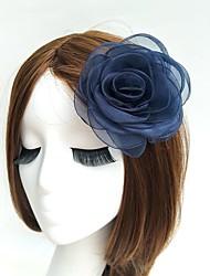 cheap -Feather Fascinators Flowers Hats Birdcage Veils Wreaths 1 Wedding Special Occasion Headpiece