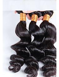 cheap -Cheap Price Brazilian Hair 3 pcs/ lot Free Shipping, 3 Bundles Brazilian Loose Wave Virgin HairBrazilian Remy Hair