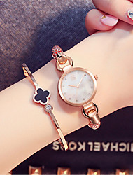 SK Women's Women Fashion Watch Bracelet Watch Chinese Quartz Water Resistant / Water Proof Shock Resistant Alloy BandVintage Charm Bangle