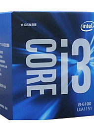 Intel Core i3-6100 CPU computer processor dual-core