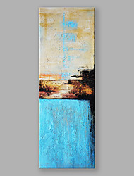 cheap -IARTS Modern Abstract Painting Blue Artistic Conception Wall Art For Home Decor Stretchered Ready To Hang