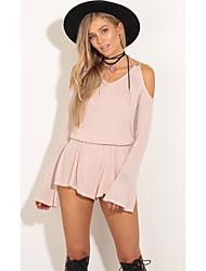 Europa 2017 nuovo aliexpress ebay senza bretelle di vendita imbracatura abito a maniche lunghe