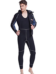 cheap -Men's 5mm Full Wetsuit Quick Dry Anatomic Design Breathable Neoprene Diving Suit Long Sleeves Diving Suits-Swimming Diving Spring Summer