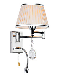 LightMyself Wall Lamp Modern/Contemporary Rustic/Lodge Modern/Comtemporary Country Chrome Feature for Crystal Swing Arm
