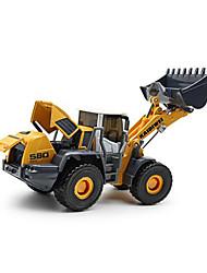 abordables -KDW Jouets Véhicule de Construction Jouets Chariot Elévateur Plastique Métal 1 Pièces Enfant Cadeau