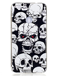 cheap -For Huawei P8 Lite(2017) P10 Case Cover Skeleton Pattern Luminous TPU Material IMD Process Soft Case Phone Case P10 Lite P9 Lite P8 Lite