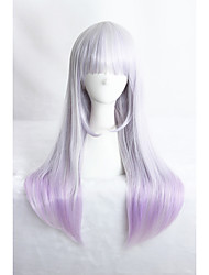 Medium Long Straight Color Mixed Girls Synthetic 24inch Anime Lolita Wig CS-283A