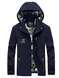 Men's Hiking Jacket Thermal / Warm Windproof Jacket Top for Spring L XL XXL XXXL XXXXL