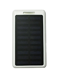 cheap -10LED 8000mAh 5V2A Power Bank with Solar Charge for Mobile Phone