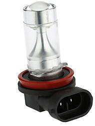 abordables -Sencart 2pcs h8 pgj191 8x3535smd blanc / rouge / jaune feux anti-brouillard ampoules de phare ac / dc9-30v