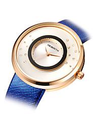 Женские Модные часы Кварцевый сплав Группа Синий Серый