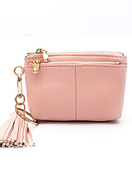 cheap -Women Bags PU Wallet for Casual Outdoor All Seasons Black Gray Pink