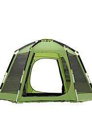 economico -5-8 persone Tenda Doppio Tenda da campeggio Una camera Tenda automatica per Campeggio Viaggi CM