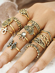 cheap -Women's Unique Design Vintage Bohemian Alloy Evil Eye Jewelry Party Daily Casual