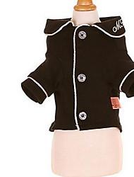 Chien Robe Vêtements pour Chien Décontracté / Quotidien Mode Princesse Noir Fuchsia Rose Costume Pour les animaux domestiques