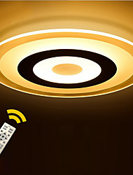cheap -Round Ultra-thin Acrylic LED The Bedroom Light Stepless Dimming Sitting Room Lights Remote Control Diameter 52cm