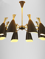 cheap -Modern/Contemporary Traditional/Classic Chandelier For Living Room Bedroom Dining Room Study Room/Office AC 100-240V Bulb Included