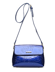 cheap -Women's Bags PU Crossbody Bag for Casual All Seasons Blue Champagne Black Red